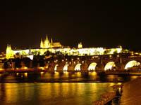 Прага, каникулы в Праге – Ночная Прага